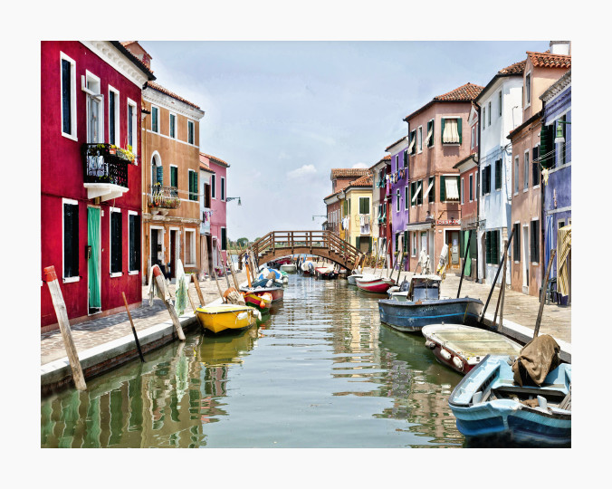 Burano Canal  BU02  - The Venice Collection