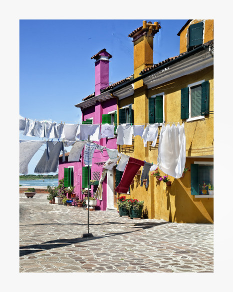 Laundry in Burano  BU05